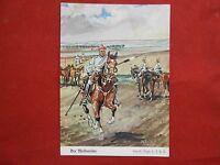 Postkarte Original nach Döbrich der Meldereiter