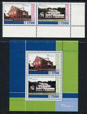 SURINAM 2001 UPAEP UNESCO Welterbe Architektur 1789-90 + Bl.84 ** MNH