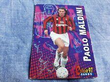 Trading card Calcio Panini 97 N°33 PAOLO MALDINI MILAN Soccer
