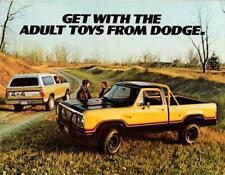 Print. 1977 Dodge Ramcharger & Power Wagon Advertisement