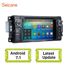 Android 7.1 Car GPS Navi Player Radio Stereo Head Unit for Jeep Wrangler 07-2010