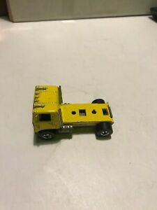 Vintage Hot Wheels Semi Truck 1981 Cabover Yellow MALAYSIA