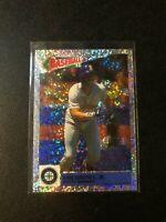 1993 Panini Album Stickers Glitter Foil Ken Griffey Jr #63 HOF Low Pop