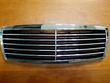 For Mercedes C Class W202 Assembly Black Grille with Chrome Frame 1994 - 2000