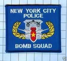 NEW YORK CITY BOMB SQUAD POLICE PATCH