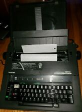 BROTHER COMPACTRONIC MODEL:300M ELECTRONIC TYPEWRITER .GRAY (JAPAN)