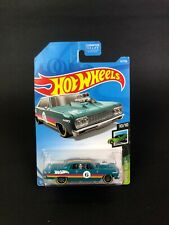 2019 Hot Wheels - Speed Blur - 64 Chevy Chevelle SS - Turquoise - #62/250