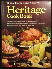 The Better Homes And Gardens Heritage Cook Book (1975, Hardcover)