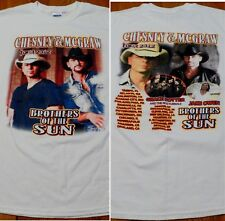 #3431-7 Chesney & McGraw Tour 2012 Brothers of the Sun T-Shirt M