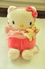HELLO KITTY BABY WITH TEDDY PLUSH PLUSHY TOY JAPAN