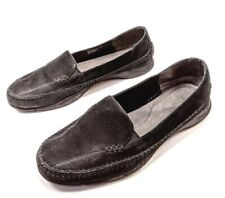 Aerosoles Ivory Tree Women's Black Suede Slip On Loafers Flats US Size 9 M