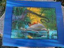 Disney Jungle Book 30th Anniversary Commemorative Lithograph 1997 Video Release