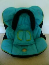 Maxi Cosi Cabriofix Spare Cover & Head Hugger /Pads-Skydriver Colour-Hardly Used