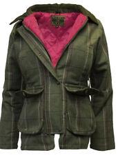 Tweed Jacket, Shooting Equestrian, Hunting, Country UK 12 PINK