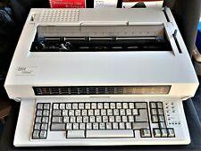 Ibm Wheelwriter 1500 By Lexmark Electronic Typewriter Powers On Parts