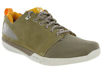 cheaper b8fbe 57376 Merrell Roust Frenzy Beige Trainers Suede Leather Lightweight Mens Padded  Shoes
