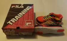 New listing Girls Size 4 Fila Swept Colorful Training Shoes Pink Navy Yellow
