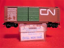 KD 23070 (Blue Label 23214)CANADIAN NATIONAL 40' DD Box Car #583794 MINT N-SCALE