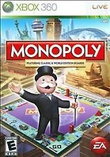Brand New Sealed MONOPOLY feat. Classic & World (Microsoft Xbox 360, 2008)