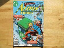 1977 VINTAGE SUPERMAN'S ACTION COMICS # 475 SIGNED JOSE GARCIA-LOPEZ ARTWORK POA