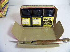 1958 DE SOTO DUPLI-COLOR TOUCH-UP MIDNIGHT BLUE NOS ORIG 3 BOTTLE BOX
