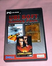Ubisoft 3 Game Pack - PC CD ROM Morrowind The Sum Of All Fears Speed Challenge