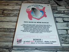 DVD  LES ENFOIRES 2002  TOUS DANS LE MÊME BATEAU /  DVD  RARE