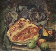 Alfred T. Bastien Still Life with Fruit O/C Lot 214