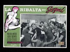 LA RIBALTA DEI SOGNI fotobusta poster Mecha Ortiz Arnova Pájards de cristal U66