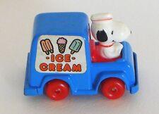 Vintage Peanuts Snoopy Diecast Ice Cream Truck 1958, Inter-Trad-Tec