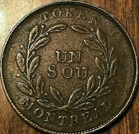 LOWER CANADA MONTREAL TOKEN BOUQUET SOU