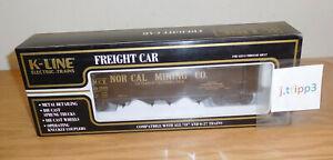 K-LINE K623-9011 TCA NORCAL MINING DIE-CAST O SCALE HOPPER TRAIN CALIFORNIA GOLD