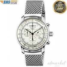ZEPPELIN 7680-M1 Watch 100 Year Anniversary Silver Dial Men's genuine from JAPAN