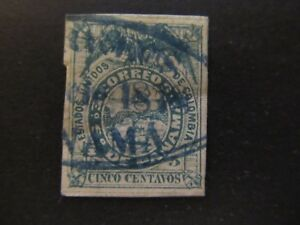1878 - PANAMA - COAT OF ARMS - SCOTT 5 A1 5C