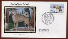Canadian Eskimo Dog First Day Cover stamp