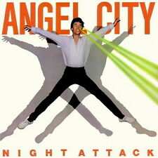 """12"""" Angel City Night Attack (Long Night, Living On The Outside) 80`s Epic"""