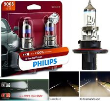 Philips X-Treme Vision 9008 H13 60/55W Two Bulb Head Light High Low Beam Upgrade