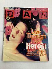 Bay Area Music Magazine Heroin Cover Drugs Grunge Alternative BAM VTG 1990 90s