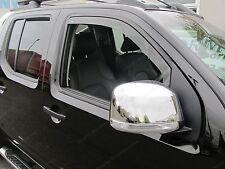 Nissan Navara D40 D/C 2005-2015 Wind Deflectors Front Set - Internal Fit (17029)