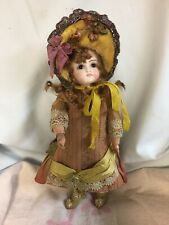 """Antique German 13""""Belton Style Doll,Solid Dome,Closed Mouth, BJB"""