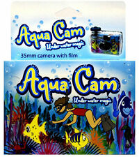 12x Aqua Cam Underwater Disposable Camera Waterproof Single Use 35mm 27exp 2019