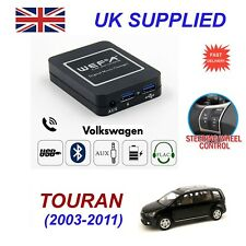For VW Touran Music Streaming Bluetooth Telephone Charger SD AUX CD Module 12Pin