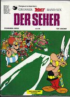 GROSSER ASTERIX BAND XIX Der Seher - Z1-2 ORIGINAL ERSTAUFLAGE COMIC-ALBUM