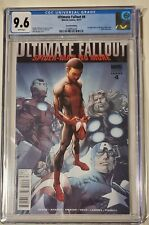 Ultimate fallout #4 2nd print cgc 9.6 1st appearance of miles morales