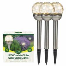GLOBO 33001 LED Solare-Lampada da tavolo per giardino e Outdoor
