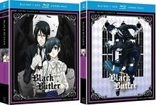 Black Butler: Anime TV Series Complete Seasons 1 & 2 DVD/BluRay Combo Set(s) NEW