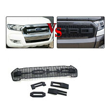 HIGH QUALITY BLACK RANGER FRONT PROTOR LIT GRILL FOR ford RANGER 2015 2016 GRILL