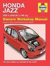 Honda jazz car service & repair manuals | ebay.
