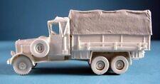 Milicast BG127 1/76 Resin WWII German Mercedes Benz LG 3000 Truck w Tilt Cover