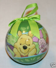 WINNIE THE POOH & FRIENDS 2013-DISNEY DECOUPAGE CHRISTMAS ORNAMENT